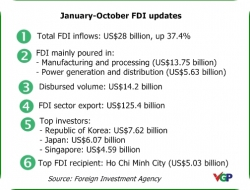 Total FDI attraction touches US$ 28.2 billion in Jan-Oct